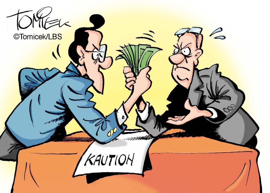 """Vermieter durfte nicht auf """"Handzahlung"""" der Kaution bestehen Bei der Mietkaution handelt es sich nicht um eine Kleinigkeit. Oft sind es mehrere Tausend Euro, die vom neuen Mieter einer Immobilie als Sicherheit hinterlegt werden müssen. Da versteht es sich von selbst, dass es auch immer wieder Streit um den korrekten Umgang mit der Kaution gibt. So forderte etwa ein Eigentümer in Nordrhein-Westfalen, dass der Mieter den fälligen Betrag in Höhe von 2.000 Euro bar zahlen solle. Das irritierte den Vertragspartner und er weigerte sich, darauf einzugehen. Daraufhin sprach der Eigentümer die Kündigung aus - unter anderem wegen der vermeintlich nicht übergebenen Kaution. Es kam nach Auskunft des Infodienstes Recht und Steuern der LBS zu einem Prozess bis zur letzten Instanz. Dort wurde schließlich klar gestellt, dass der Mieter ein """"insolvenzfestes"""" Konto (getrennt vom Vermögen des Eigentümers) fordern darf, auf das er dann den Betrag überweisen kann. Wird ein solches Konto nicht benannt, so kann dem Mieter auch nicht mit der Begründung gekündigt werden, er habe die Zahlung der Kaution verweigert. (Bundesgerichtshof, Aktenzeichen VIII ZR 98/10)"""
