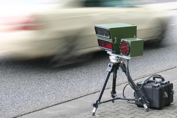 Radarfalle Geschwindigkeitsmessung