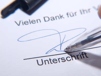 contract in germania